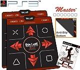 2 x Dance Dance Revolution Ultra Sensitive Master Non-Slip Dance Pad for PS3 + DDR Supernova for PS3