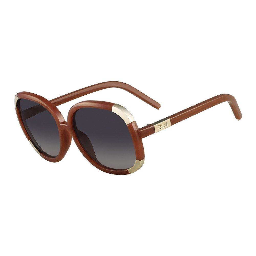 Amazon.com: Chloe CL2119-207 Ladies Toffee CL2119 Sunglasses ...
