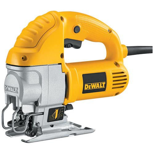 Reconditioned Jigsaw - Factory-Reconditioned DEWALT DW317KR 5.5 Amp Top Handle Jig Saw Kit