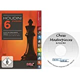 "Houdini 6 Standard Chess Playing Software Program bundled with ChessCentral's ""Chess Masterpieces"" on CD"