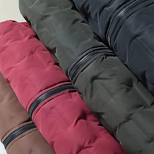 Invernali Uomo The Superiore Lunghe Green North Burton Autunno Desigual Felpa Tasca Casuale Pelle Con Zipper Face Cappotto Cappuccio Army Termico Ragwear Marikoo Moda Eleganti Packwork Somesun OFwqHdO