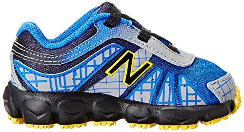 New Balance - Zapatillas de deporte para niño azul y negro