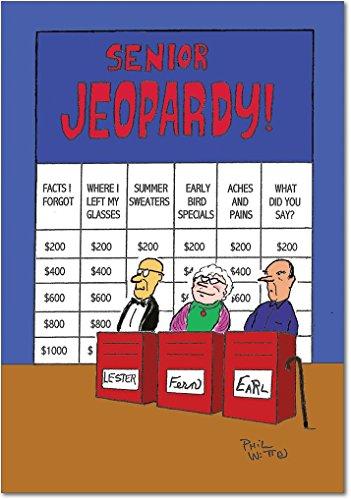 6291Z Senior Jeopardy Birthday NobleWorks