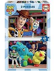 Educa - Toy Story 4, 2 Puzzles infantiles de 48 piezas, a partir de 4 años (18106)