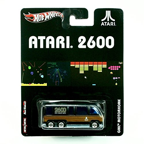 GMC MOTORHOME * ATARI 2600 * Atari Hot Wheels 2012 Nostalgia Series 1:64 Scale Die-Cast Vehicle