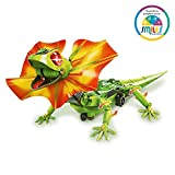 Smiles Creation Diy Solar Rechargeable Robotic Lizard Self Assembly Induction Sensor Led Educational Model Building Science Dragon Robot Toy