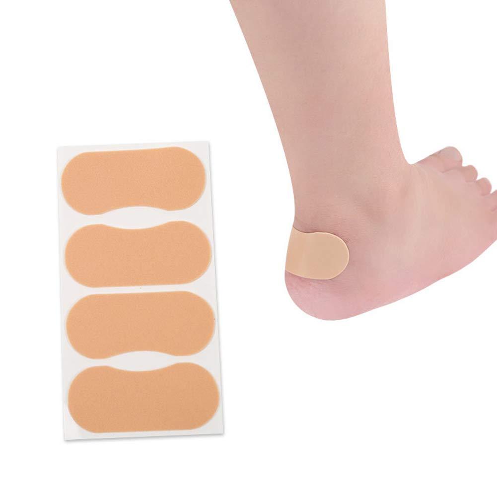 Academyus 4Pcs Waterproof Foam Anti-Grinding Heels Sticker Pad Patch Foot Care Protector