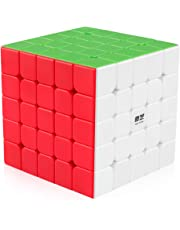 Coogam Qiyi 5x5 Speed Cube Stickerless Puzzle Toy (Qizheng S Version)