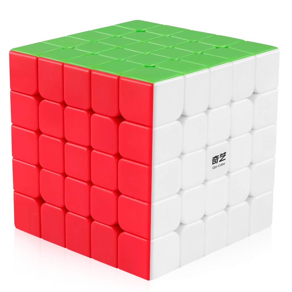 coupon codes free shipping details for Coogam Qiyi 5x5 Speed Cube Stickerless Puzzle Toy (Qizheng S Version)