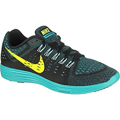 Amazon.com | Nike Lunar Trainer Running Shoes - Mens Black