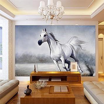 Wapel Malerei Das Fototapete An Der Wand Tapeten Ross Tapete Foto 3D  Wohnzimmer Schlafzimmer Haus Dekoration