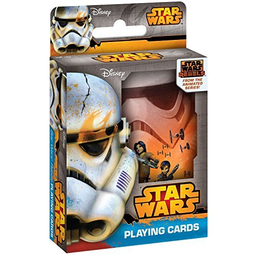 Cartamundi Star Wars Rebels Playing Cards in Collectible Tin
