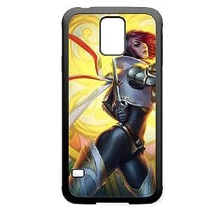 Fiora-003 League of Legends LoL case cover Samsung Galaxy Note4 - Rubber Black Kimberly Kurzendoerfer