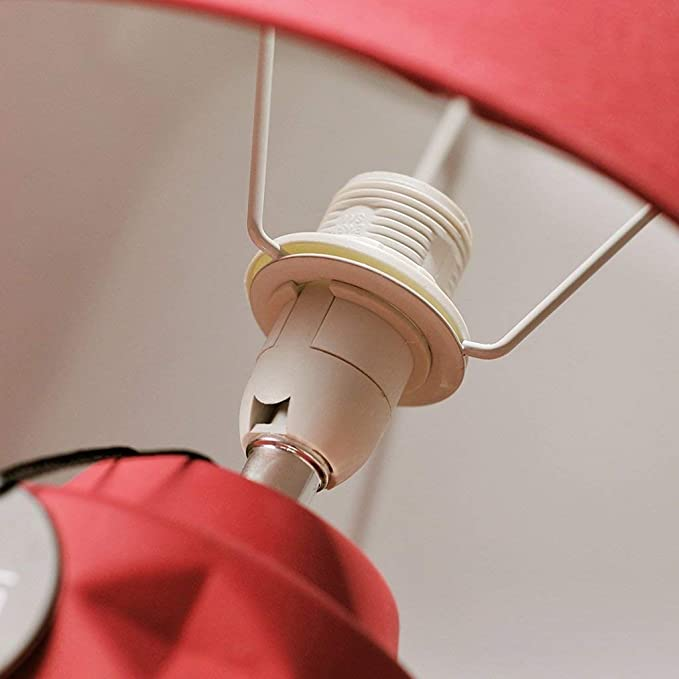 Amazon.com: ChuanHan Ceiling Fan Light Chandelier Lightings Table Lamp Creative Red Ceramic Modern Contemporary Bedroom Study Bedside Lighting Led Table E27 ...