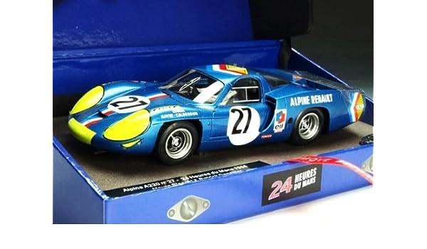 Amazon com: 1/32 Le Mans Miniatures Slot Cars - Alpine