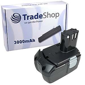 Trade-Shop–Batería para herramientas 18V 3000mAh para HITACHI DS18DVF3DS18DL DS18DLP4DV18DCL DV18DL DV18DMR DV18DV dv18dvks DV18DVC DV18DVL DV18DCL DV18DL DV18DLP4WH18DFL WH18DL