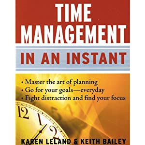 Time Management in an Instant Audiobook