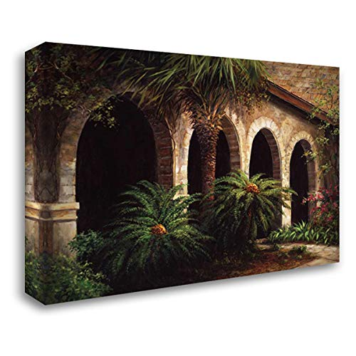 (Sago Arches 58x44 Extra Large Gallery Wrapped Stretched Canvas Art by Fronckowiak, Art)