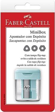 Apontador com Depósito Minibox, Faber-Castell, SM/MINIBOX, Multicor
