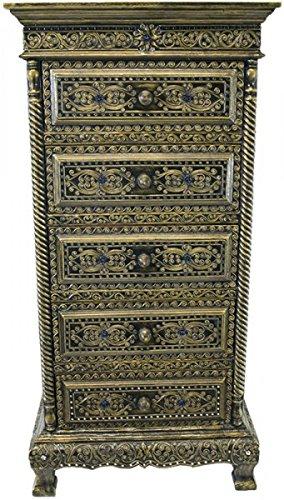 Kommode Schrank Antik Style Nachttisch China Möbel Asien 2 Schubladen 50cm