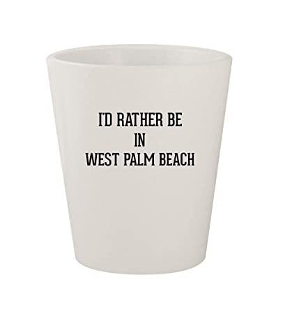 Amazon com | I'd Rather Be In WEST PALM BEACH - Ceramic