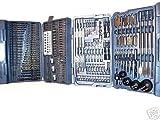 204 PC Combination Drill Bit set HOLE SAW TORX POZI