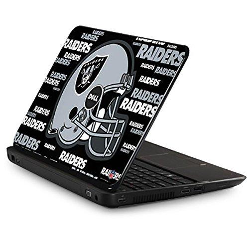 Skinit NFL Oakland Raiders Inspiron 15R - N5110 Skin - Oakland Raiders - Blast Alternate Design - Ultra Thin, Lightweight Vinyl Decal Protection by Skinit
