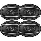 Pioneer TS-A6970F A-Series Coaxial Speaker System (5 Way, 6' x 9') (2pairs)