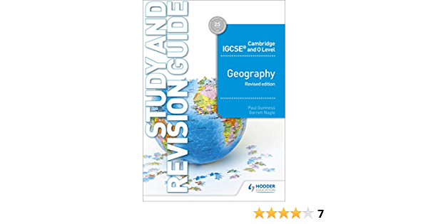 Cambridge IGCSE and O Level Geography Study and Revision ...