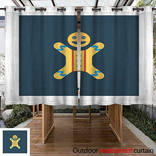 - RenteriaDecor Outdoor Curtains for Patio Sheer Voodoo W63 x L72