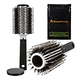 BeautyStash Diversion Safe Stash Can Hair Brush - with Smell-Proof Stash Bag by HumanFriendly - Ultra-Discrete Stash Container & Functional Dual-Bristle Hair Brush & Sound-Proof Bag