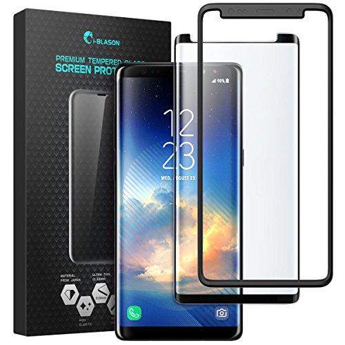 Samsung Galaxy Note 8 Protector de pantalla I-Blason, Protector de pantalla templado para Galaxy S8 [Compatible con la...