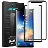 Samsung Galaxy Note 8 Protector de pantalla I-Blason, Protector de pantalla templado para Galaxy S8 [Compatible con la mayoría de las carcasas reforzadas