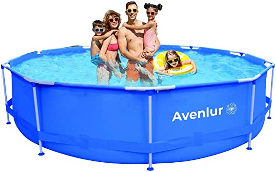 Avenlur Stainless Steel Above Ground Swimming Pool