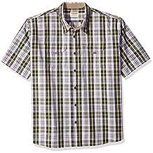 Wrangler mens big-tall Authentics Big & Tall Short Sleeve Canvas Shirt