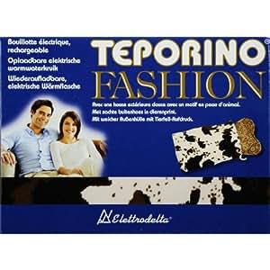 Teporino TF1M - Bolsa de agua caliente, diseño de vaca