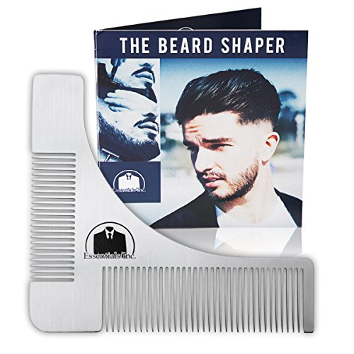 essentials beard shaping symmetric tool comb for shaving my beard shop the best beard care. Black Bedroom Furniture Sets. Home Design Ideas