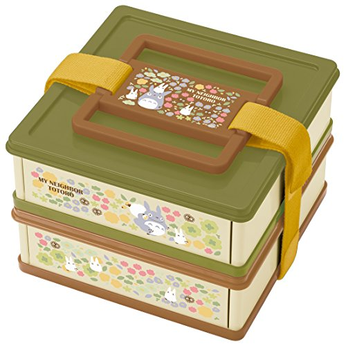 Studio Ghibli My Neighbor Totoro Two-Tiered Collapsible Lunch Box by Skater