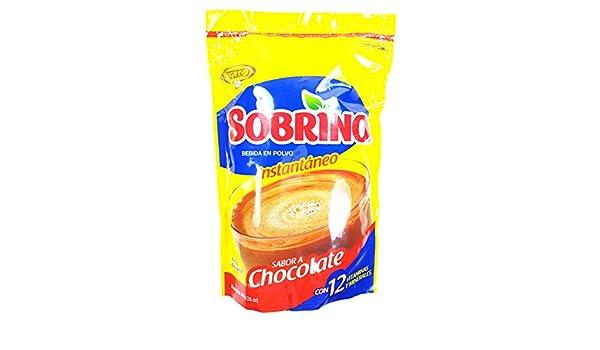Amazon.com : Sweet Dominican Sobrino Chocolate Powder Bag En Polvo ...