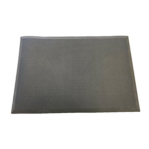 Contour Ergonomics Anti Fatigue Floor Mat 920x620mm Black [Pack of 1]