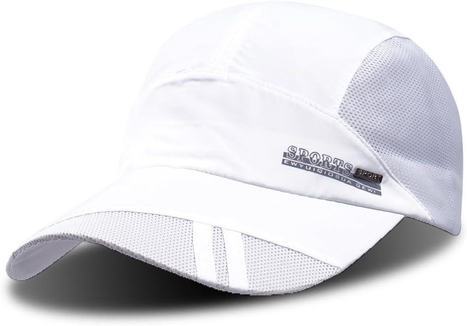 ibasingo Unisex poliéster algodón sombrero sombrero de secado ...
