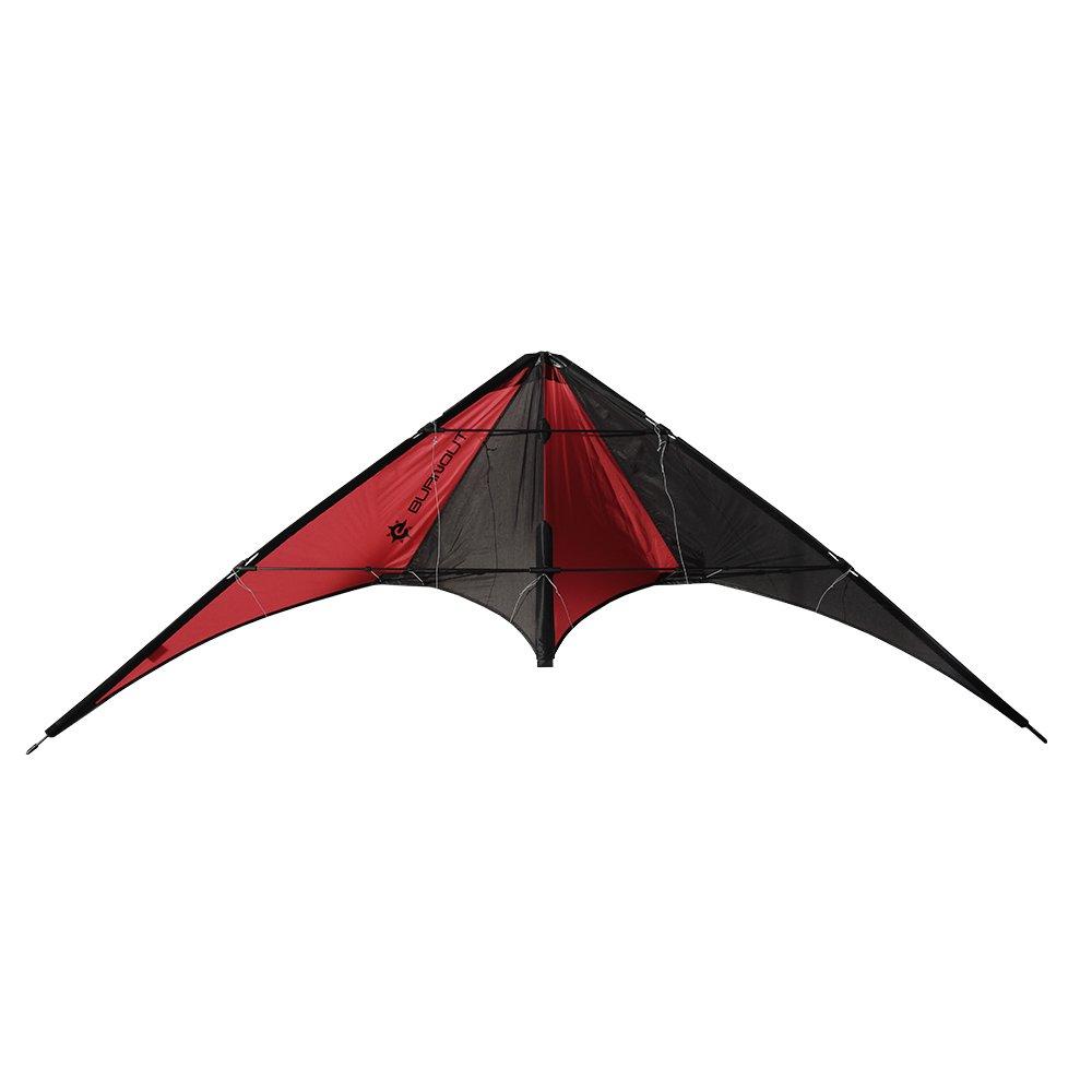 entrega rápida Elliot 1010640 stuntkite / allrounder / truco truco truco de la quemadura, negro / rojo rtf  en promociones de estadios