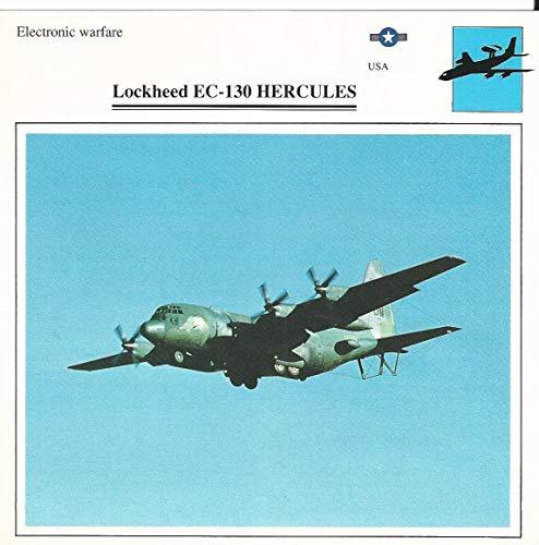 - 1990 Edito-Service, War Planes Cards, Airplanes, 36.20 Lockheed EC-130