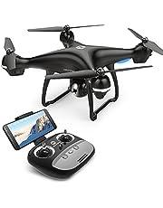 Holy Stone HS100 Drone FPV Cámara 1080P HD WiFi Vídeo en Vivo GPS Retorno Inicio Cámara Quadcopter de Gran Angular Ajustable Sígueme retención de altitud batería Inteligente Rango de Control Largo