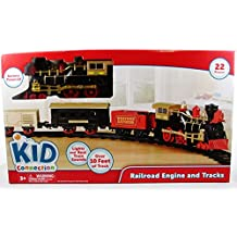 Kids Connection 22 Piece Train Set - Battery Operated
