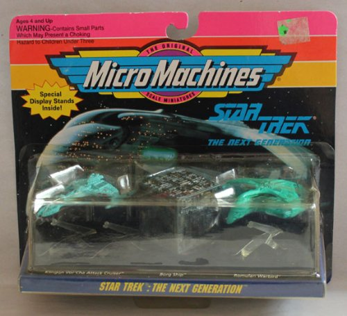 Next Generation Micro Machine (Micro Machines Star Trek the Next Generation Set)