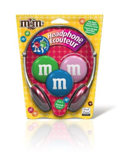 Maxell M&M Kids Safe 4 in1 Headphones (190570)