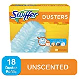 Swiffer Dusters, Multi Surface Refills, Unscented Scent, 18 count: more info