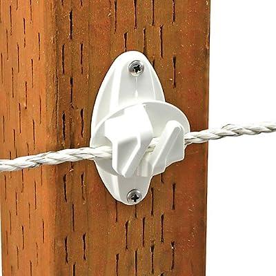 Powerfields Wood Post Claw Insulator