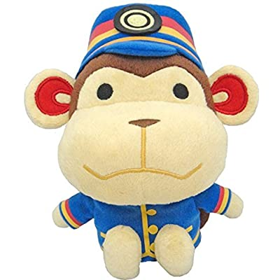 "Little Buddy USA Animal Crossing New Leaf Porter 7.5"" Plush: Toys & Games"